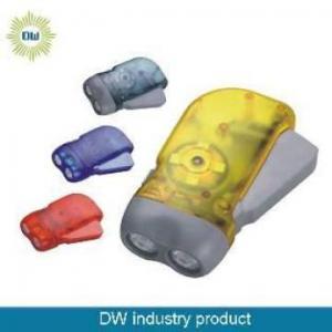 China Hand Press Dynamo LED Torch on sale