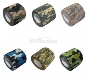 China Non-woven Elastic Camouflage Cohesive Bandageg on sale