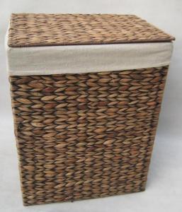 China Sea Grass/Rush Baskets 12081 Seagrass laundry basket on sale