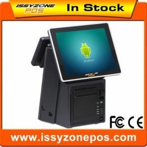 China IZP018 Double Screen Touch Android Pos Device Terminal With Build In Thermal Printer 1Set on sale