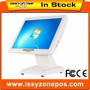 China IZP020 White Point Of Sales Screen Touch Pos System For Coffee Shop 1Set on sale