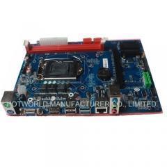 China Motherboard Motherboard H81 Rebanding LGA 1150 Intel H81 DDR3 1600 on sale