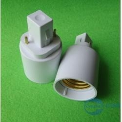 China G24 to E27 lamp holder adapter on sale