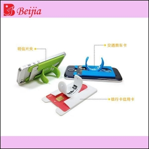 China 2014 new product mobile phone card holder with slap stand on sale