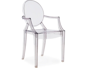 China Replica Dining chair louis ghost clear chair(KT-4581) on sale