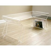 China modern design acrylic coffee table on sale