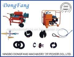 China Fiber Optic Cable Installation Equipment Cable Blowing Machine on sale