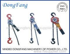 China Lever Block Ratchet Chain Hoist of Overhead Line Stringing Equipment Accessories on sale