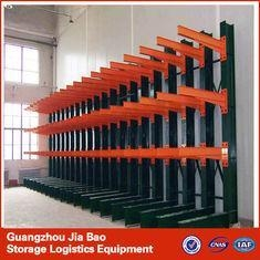 China 4 Tier Metal Steel Heavy Duty Cantilever Storage Racks Systems 500-2000kg / Layer on sale
