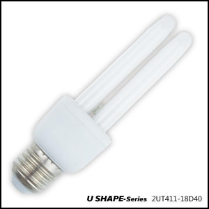 China Fluorescent Tube U SHAPE SERIES-2UT411-18D40 on sale