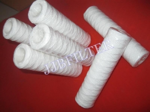 China String Wound Water filter cartridge 0.5um on sale