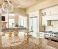 China C003 Stylish vein artificial stone kitchen counter island tops on sale