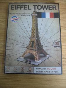 China Funny Toys tour eiffel puzzle 3d 40117 3D Paper Puzzle on sale