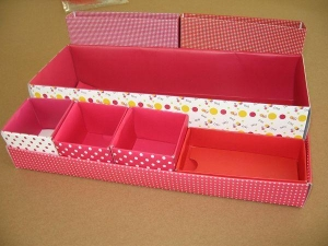 China Paper Crafts tissue paper holder box 30126 Paper Holder Box on sale
