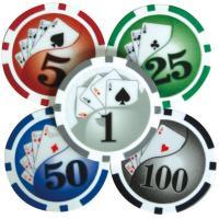 China Cards Poker best poker chip set 20113 Poker Chips on sale