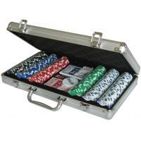 China Cards Poker 300 poker chip set 20115 300pcs Poker Chips Game Set on sale