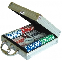 China Cards Poker poker chips for sale 20117 100pcs Poker Chips Game Set on sale