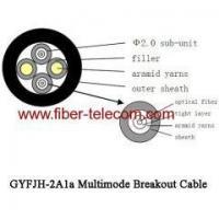 GYFJH-2A1a Multimode Breakout Cable 7.0mm LSZH