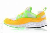 China Best Nike Air Huarache Light Atomic Mango/Action Green-White Sale CM701248 on sale