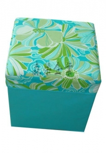China new design cheap larger size fabric storage box with lid on sale
