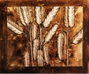 China tree relief painting sculpture painting decor painting on sale
