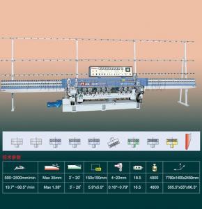 China HXM371 glass bevels machine on sale