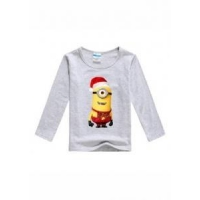 China Boys Clothes graphic tees for boys long sleeve with transfer printing on sale