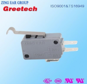 China Basic Micro Switch Ul Vde Ce Rosh Certification Snap Switch on sale