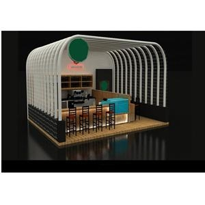 China 2016 New design shopping mall retail indoor coffee kiosk cart-SY093 on sale