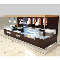 Mall coffee kiosk design company manufacturer for America market