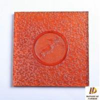 liuli / crystal phoenix embossed tiles