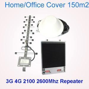 China LTE 1800 2600MHz Dual Band Mobile Signal Booster on sale