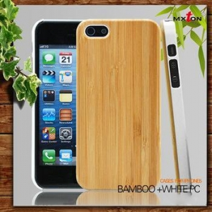 China Elegant High Quality With Custom Printed Logo For Iphine 6 Wooden Case on sale