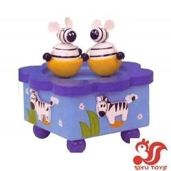 China Musical toys Wooden Rotating Music Box Model No.: SY15018 on sale