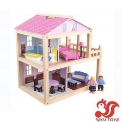 China Musical toys KidKraft Country Lane Cottage Dollhouse Model No.: SY19003 on sale
