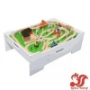 China SIYU Wooden Train Table and 130 Piece Train Set ... Model No.: SY11001 for sale