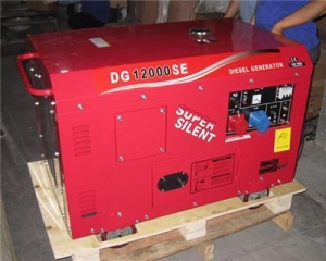 China 10KVA Silent&Portable Diesel Generator on sale