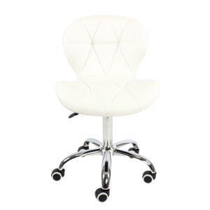 China High Back Seat Swivel PU Leather Adjustable Salon Chair on sale