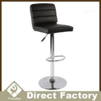 High Back Seat Swivel Adjustable PU Leather Counter Stools