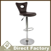 Swivel PU Leather Adjustable Outdoor Bar Stools