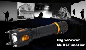 China Rechargeable flashlight Rechargeable Multi-function LED Torch Light on sale