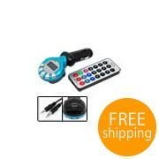 China Car MP3 Player FM Transmitter Modulator with USB SD Slot [E27650] on sale