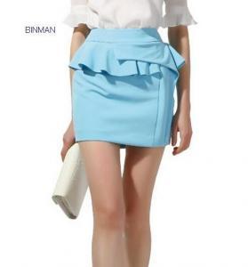 China 201483018479European corrugated edge penciil skirt on sale