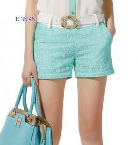 China 2014917183149fashion slim lace shorts on sale