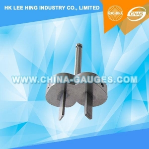 China AS/NZS 3112 Figure 3.7 Device for Checking The Resistance to Lateral Strain (Two-Pin Gauge) on sale