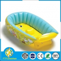 safty plastic inflatable baby bath tub for gifts
