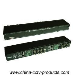 China 16CH Passive CCTV Video Balun for HD-Ahd/Cvi/Tvi with CE RoHS (VB216SH) on sale