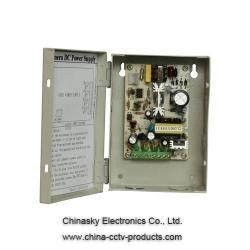 China 12VDC 2Amp 4 Channel CCTV Camera Power Supply Box 12VDC2A4P on sale