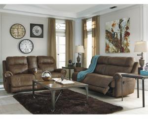 China Reclining Sofa & Loveseat Sets Reclining Sofa & Loveseat Set 38400-SL Austere-Brown on sale
