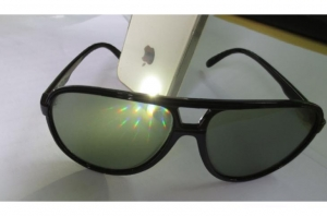 China Novelty Aviator Diffraction Glasses Emerald Lens on sale
